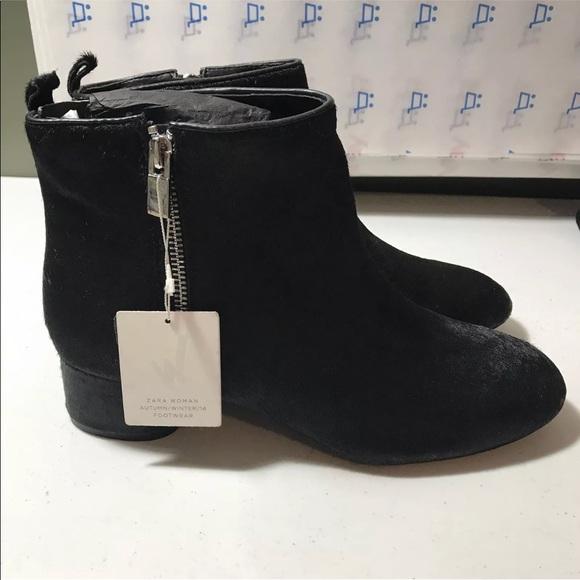 0deecaf40 Zara Shoes | New Womens Pony Hair Ankle Boots Size 9 | Poshmark